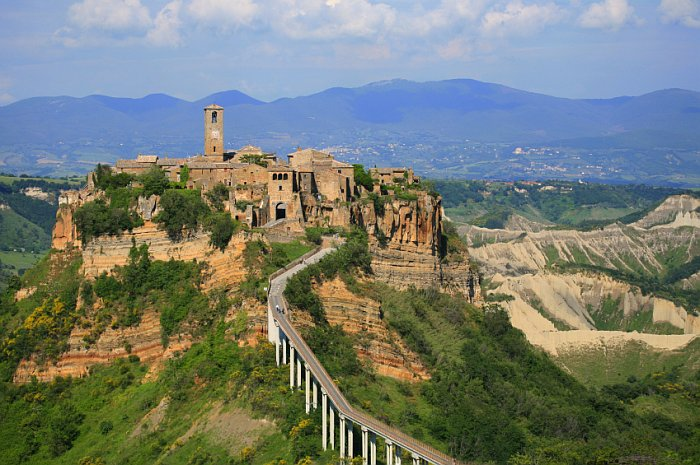 Civita di Bagnoregio @ Italian Village Vacation